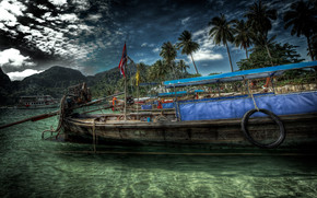 Old HDR Boat