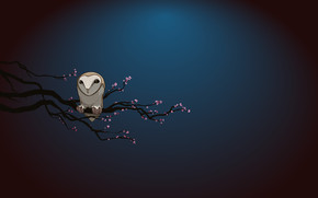 Owl Alone wallpaper