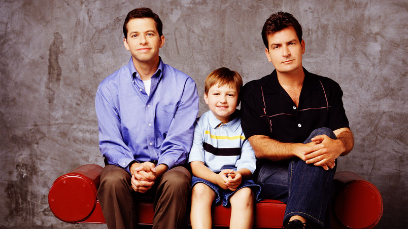 Two and a Half Men Poster wallpaper