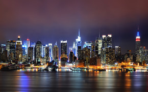New York Lighting wallpaper