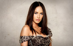 Megan Fox Bust wallpaper