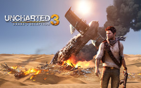 Uncharted 3 Drake Deception wallpaper