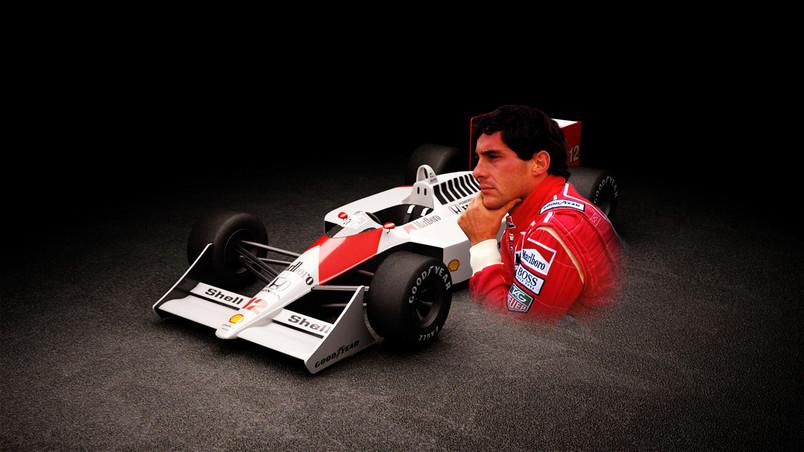 Ayrton Senna Hd Wallpaper Wallpaperfx