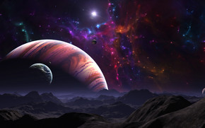 Space World View wallpaper