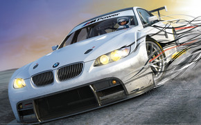 BMW 3 Series Coupe NFS wallpaper