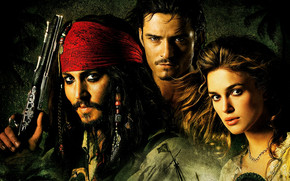 The Pirates of the Caribbean wallpaper