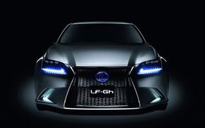 Lexus LF-Gh Hybrid Concept Front