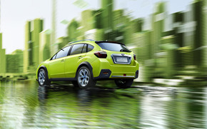 Subaru XV Concept 2011 Rear wallpaper