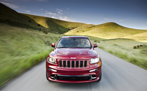 Jeep Grand Cherokee SRT8 2012 wallpaper