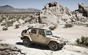 Jeep Wrangler Mojave wallpaper
