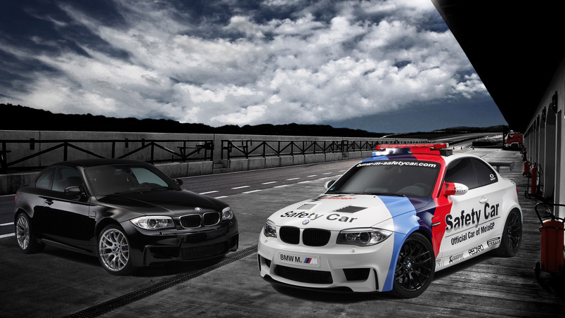 Bmw 1 Series M Coupe Safety Car Hd Wallpaper Wallpaperfx