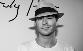 Ian Somerhalder Hat wallpaper