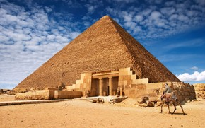 The Egyptian Pyramids wallpaper
