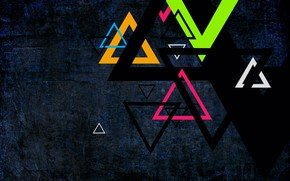 Triangles wallpaper