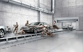 Mercedes CLS Maintenance wallpaper