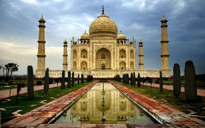 India Taj Mahal wallpaper