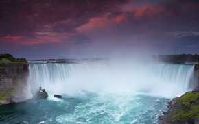 The Falls at Sunset