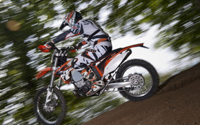 KTM EXC 200 Speed wallpaper