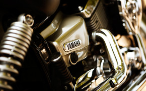 Yamaha bike Close-Up wallpaper