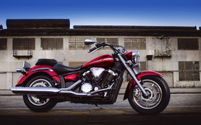 Yamaha XVS1300A Midnight Star wallpaper
