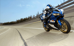 Yamaha YZF-R1 2008 wallpaper