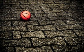 Ball on The Street wallpaper