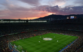 Camp Nou Stadium wallpaper