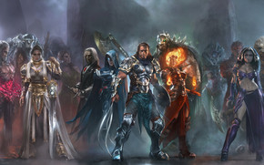 Duels of the Planeswalkers wallpaper