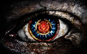 HDR Eye wallpaper