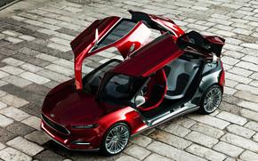 Ford Evos Concept Open Doors