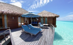 Maldives Resort wallpaper