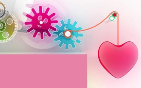 Mechanism of Love wallpaper