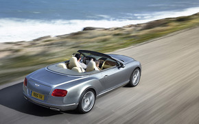 Bentley Continental GTC Speed wallpaper