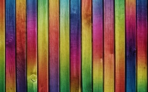 Colourful Wood Painting wallpaper