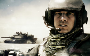 Battlefield 3 Character wallpaper