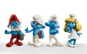 Smurfs Team wallpaper