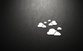 Few Clouds wallpaper