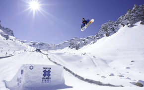Snowboarding Season wallpaper