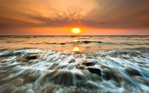 Gorai Beach Sunset