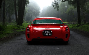 Gullwing America Ferrari F340 Rear wallpaper