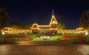 Christmas at Disneyland wallpaper