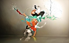 Breakdancer wallpaper