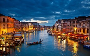 Night in Venice wallpaper