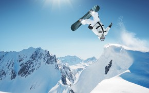 Snowboarding Adventure wallpaper