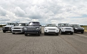 Land Rover and Range Rover wallpaper