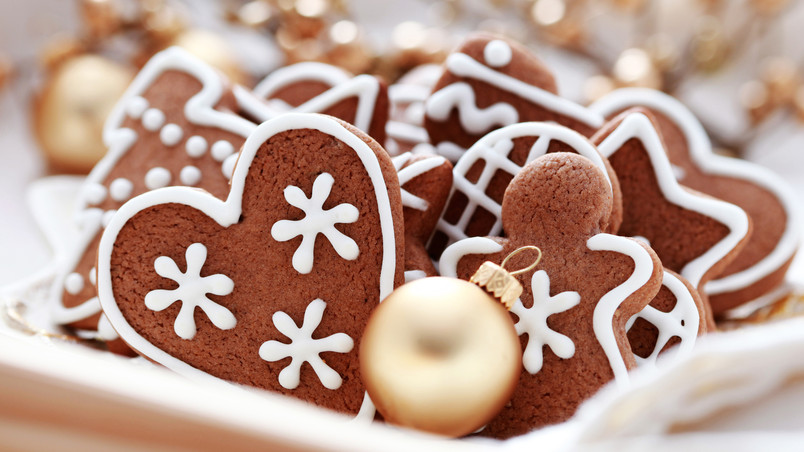 Sweets for Christmas wallpaper