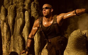 The Chronicles of Riddick Vin Diesel, wallpaper