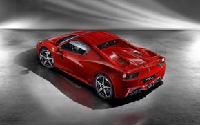 Ferrari 458 Spider 2012 Top View