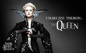 Charlize Theron The Queen wallpaper