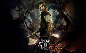 The Huntsman in Snow White Movie 2012 wallpaper